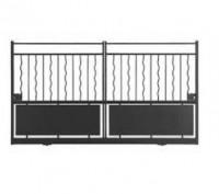Portail coulissant AZUR (04) sans accessoires 160x250cm gauche/droite
