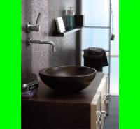 Vasque VANITY à poser 38cm noir ALLIA
