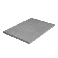 Receveur KINEROCK gris pierre 120x90cm KINEDO DOUCHE