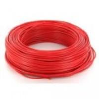 Fil rigide HO7VU 1,5 rouge couronne de 100m DAUMESNIL