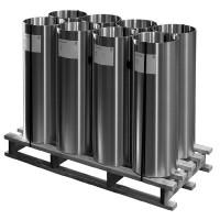 Bobine zinc naturel 0,65mm 1000mm 21m RHEINZINK