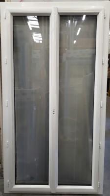 Porte Fenêtre 2 Vantaux Crémone Dormant Rénovation Aluminium