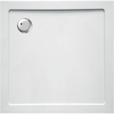Receveur synthèse PLENITUDE 80x80cm blanc ALTERNA