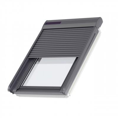 Volet Roulant Solaire Ssl Pour Fenêtre De Toit Sk06 114x118 Cm