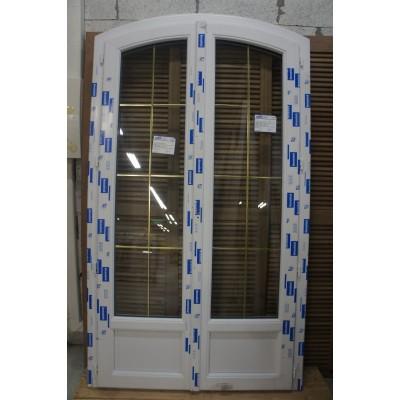 Porte Fenêtre Cintrée H211l115 Deceuninck Saint Saens 76680