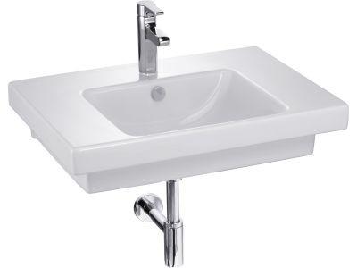 Plan vasque ODEON UP L70cm couleur blanc réf E47325300 JACOB DELAFON