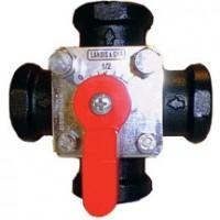Vanne 4 voies taraudée de mélange pression nominale 10 SIEMENS