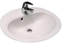 Vasque à encastrer POLO L58,5xl44cm réf WM817G1 blanc ROCA