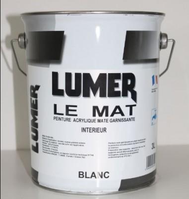 peinture acrylique int rieur 495 l mat blanc lumer saint jean de braye 45800 d stockage. Black Bedroom Furniture Sets. Home Design Ideas
