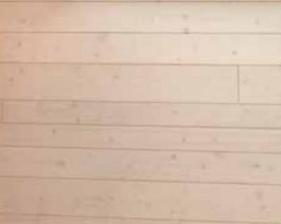 Lambris decorplan verni blanc sapin 6 lames soit 3.645m2 raboté grain orge rb fas 01