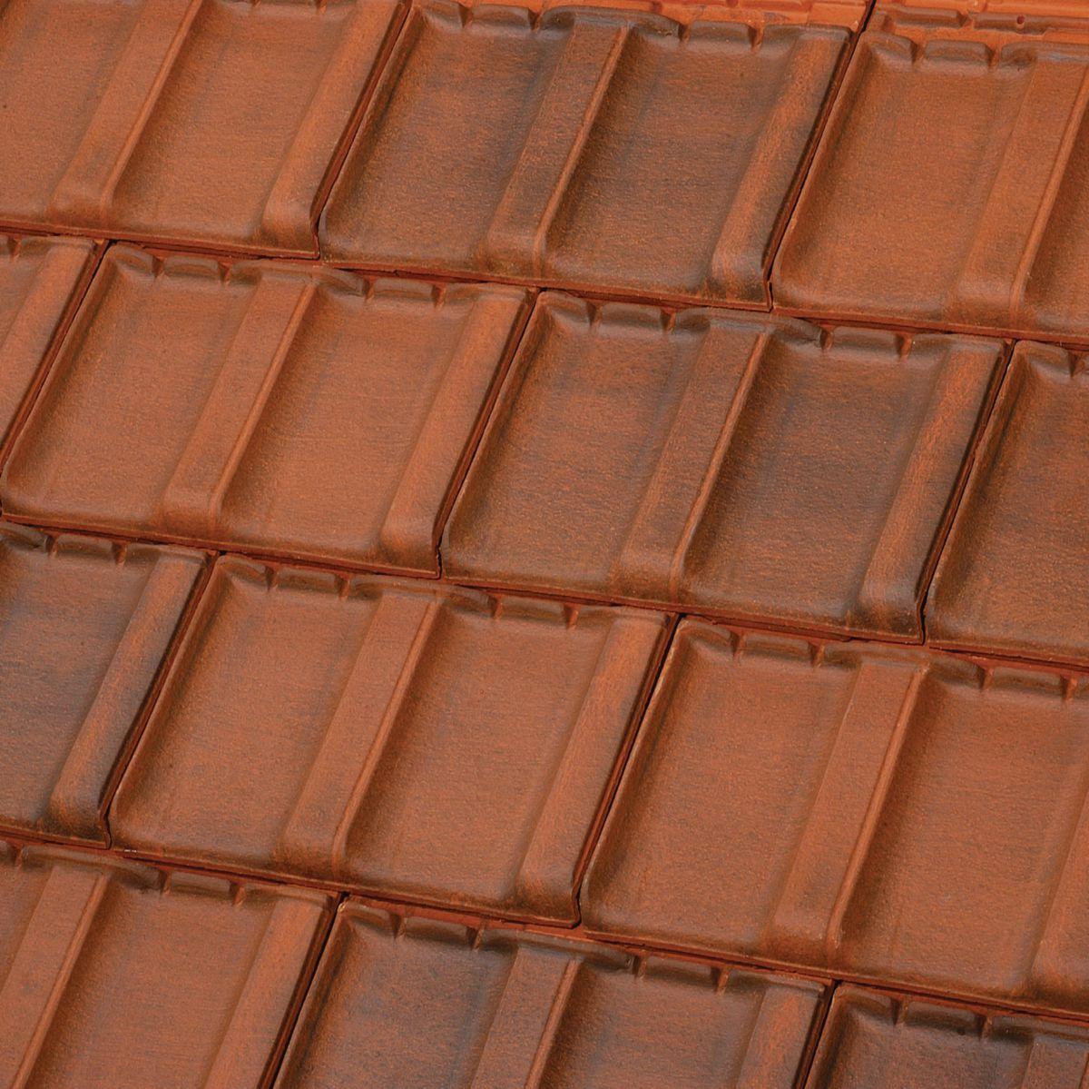 Tuile à douille Résidence brun rustique diamètre 100 mm TERREAL - Chaveignes - 37120