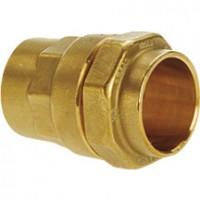 Raccord pour tube polyéthylène type 116 laiton, diamètre 50x60-63mm ISIFLO