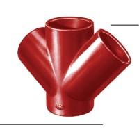 Culotte double SMU S 68° diamètre nominal 150-150 PONT A MOUSSON