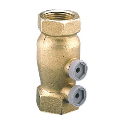 Clapet antipollution EA221B, cps laiton, a/bossage, tar. 3/4 SOCLA