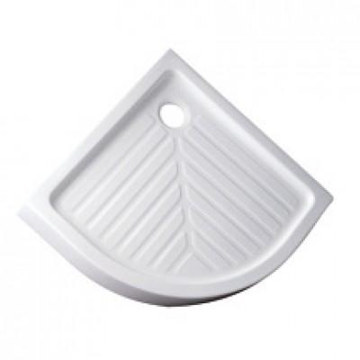 Receveur PRIMA2 d'angle surélevé 80x80cm blanc ALLIA