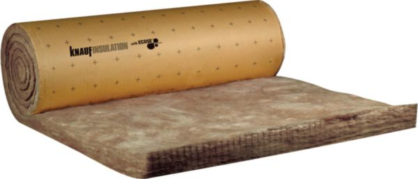 100 mm 8,3 m2 par rouleau Isolant en rouleau Knauf Earthwool