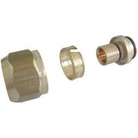 Raccord de serrage brut diamètre 20x2,5mm OVENTROP