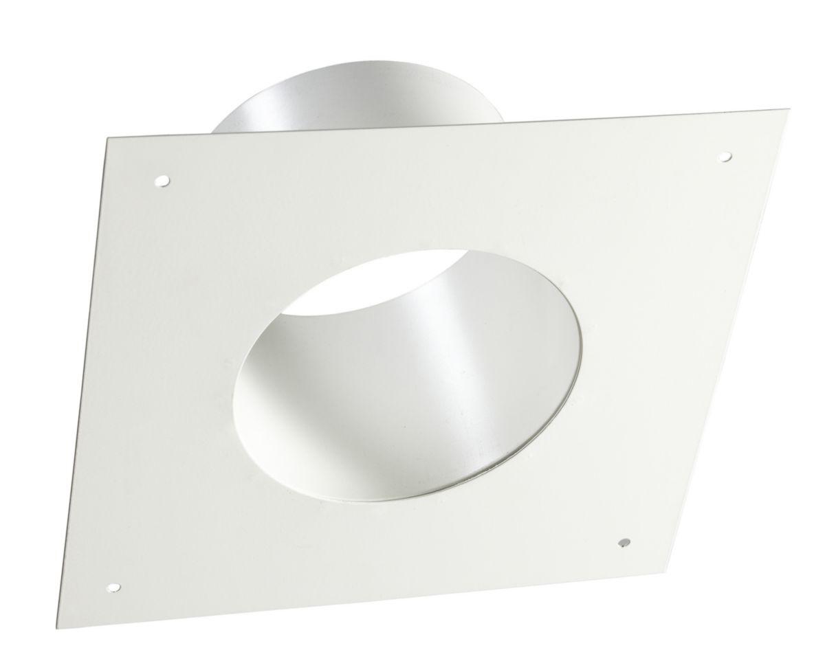 Plaque ronde de finition Article fumisteria ligne b/ûches pour chemin/ée diam/ètre 150/mm