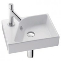 Lave-mains FORMILIA RYTHMIK 40x30cm blanc JACOB DELAFON