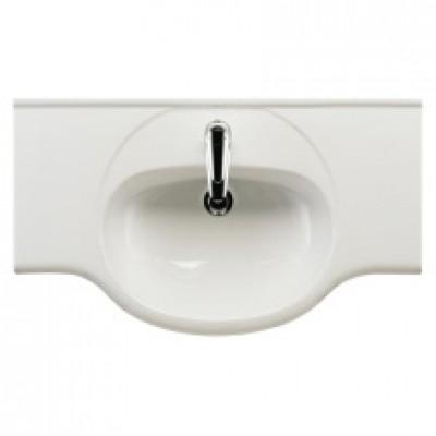 Plan céramique lavabo TOLEDE 085cm réf SCALM6E10C0 ALTERNA