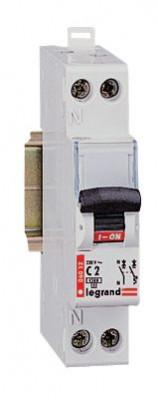 Unipolaire Intensité 2 A  REF 092820 Disjoncteur DNX type C Legrand neutre