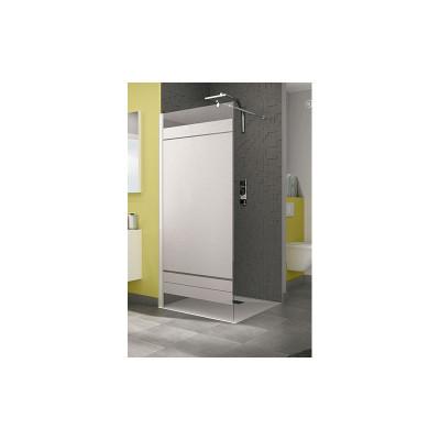 paroi de douche smart2 solo 107 110 chrom transparent. Black Bedroom Furniture Sets. Home Design Ideas