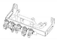 Platine hydraulique de remplacement ELM G7/G5 CHAFFOTEAUX