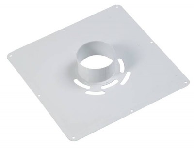 Plaque de propreté I blanc 300x300 D80 TEN