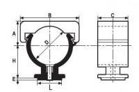 Collier MONOKLIP 7x150 d25 GIRPI
