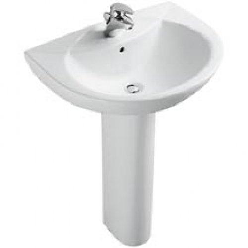 lavabo odeon 66x52cm blanc jacob delafon albi 81000. Black Bedroom Furniture Sets. Home Design Ideas