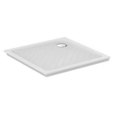 Receveur carré à encastrer Ulysse+ 80x80 Blanc IDEAL STANDARD