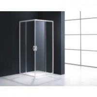 Accès d'angle MEZZO 77-79cm verre transparent