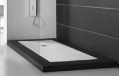 receveur ninety slate beige 120cm acquabella construplas. Black Bedroom Furniture Sets. Home Design Ideas