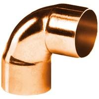 Coude cuivre 5090 petit rayon 90° femelle femelle D54 sachet de 1 ALTECH