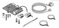 Platine + sonde P/1 circuit avec vanne FM48 DE DIETRICH