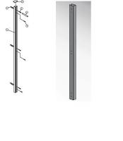 Profilé élargissement JAZZ 3,5cm LEDA