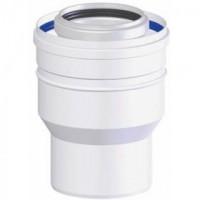 Adaptateur PPS diamètre 60/100 sur 80/125mm DY708 DE DIETRICH