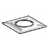 Plaque supérieure d'étanchéité 200 carré POUJOULAT