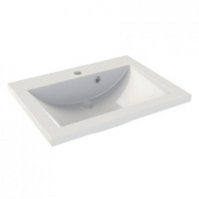 Plan de Synthèse 1 Vasque, 60cm, blanc SEDUCTA