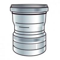 Raccord condensation diamètre 110 PPTL flexible à flexible UBBINK