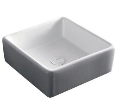 vasque poser domino carr e 38x38 mont limar 26200. Black Bedroom Furniture Sets. Home Design Ideas