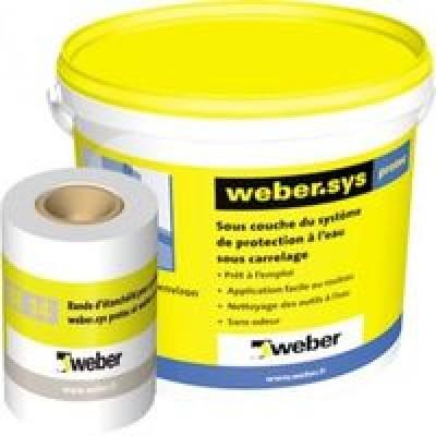 Weber.sys protec kit 5m2 WEBER