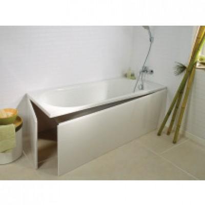 tablier de baignoire universel iva lg 180cm blanc basic. Black Bedroom Furniture Sets. Home Design Ideas