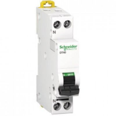 Disjoncteur DT40N 1P+N 20A D SCHNEIDER ELECTRIC
