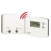 Thermostat programmable sans fil 5+2 jours DANFOSS CHAUFFAGE
