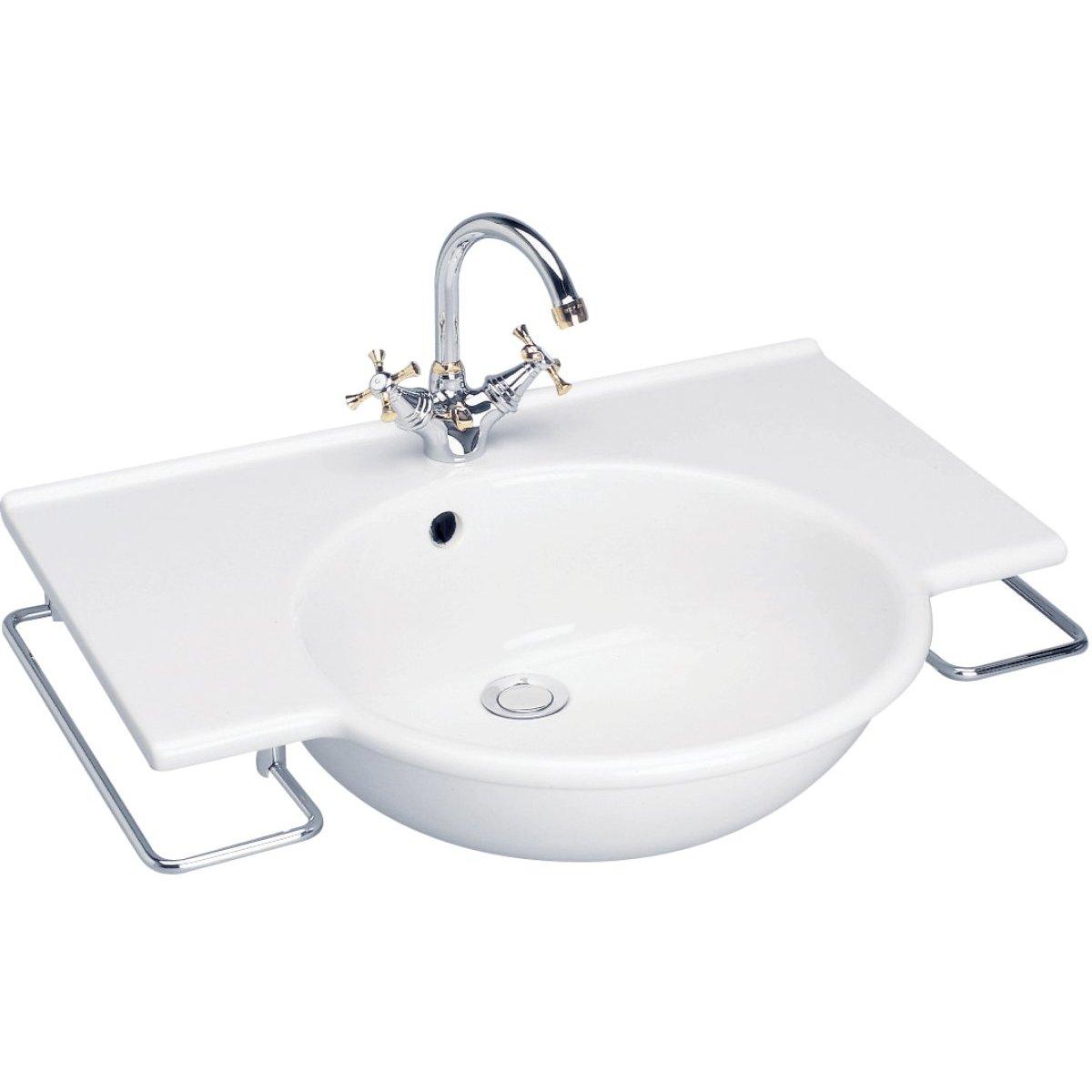 lavabo plan sapho 69x52cm avec trop plein blanc porcher saumur 49400 d stockage habitat. Black Bedroom Furniture Sets. Home Design Ideas