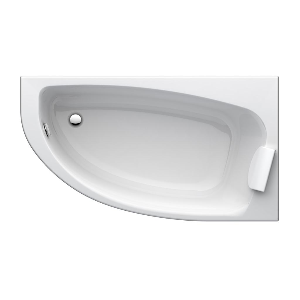 baignoire angle droite kheops3 160x90 ideal standard. Black Bedroom Furniture Sets. Home Design Ideas