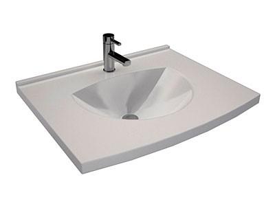 Plan vasque double ODYSSE  DECOTEC