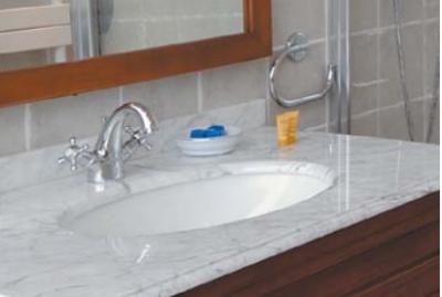 Vasque céramique P/PLAN vasque ANTICA blanc