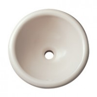 Vasque UZES à encastrer diamètre 34 blanc ALLIA
